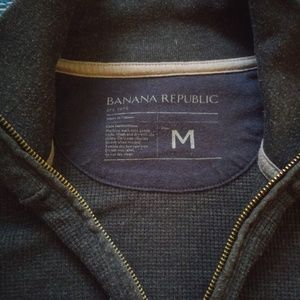 Banana Republic 1/4 Zip Pullover Dress Sweater